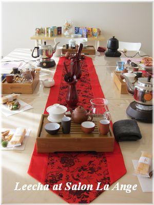 はじめての中国茶講座@ラ・アンジェ